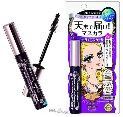 best asian mascara, kiss me heroine make volume and curl
