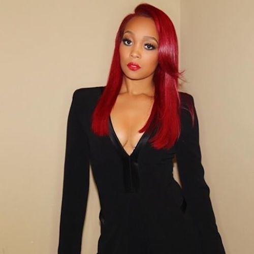 red hair for dark skin