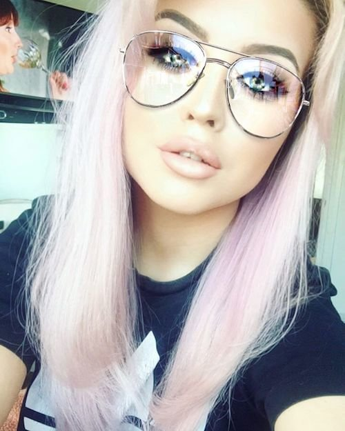 bubble gum hair color