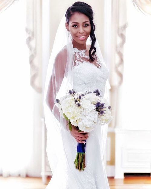 half up wedding hairstyles for black women