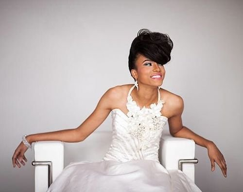 sculpted wedding hairstyle for black women 5