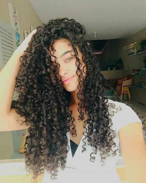 long amazing curls