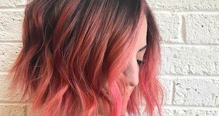 pink hair color ideas 2018