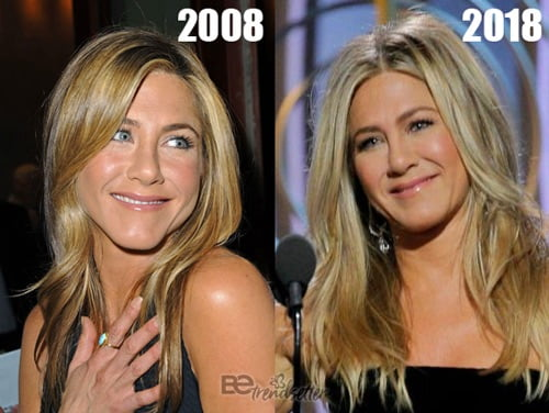 Jennifer aniston shaved mistaken