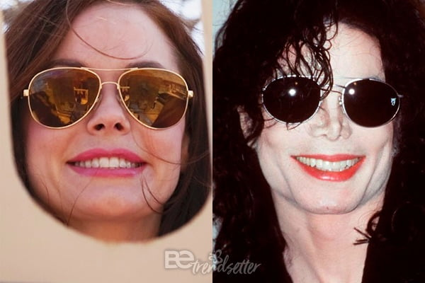 Rose McGowan - Michel Jackson look alike
