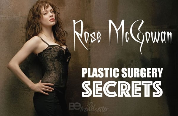 Rose McGowan plastic surgery secrets