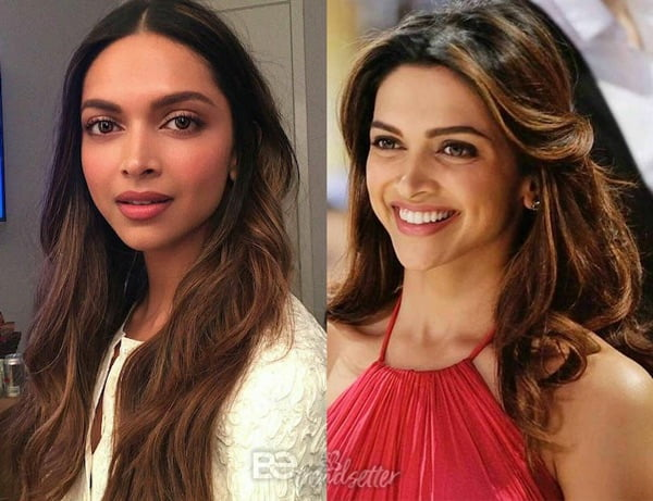 Feather Cut Long Hair : Deepika Padukone