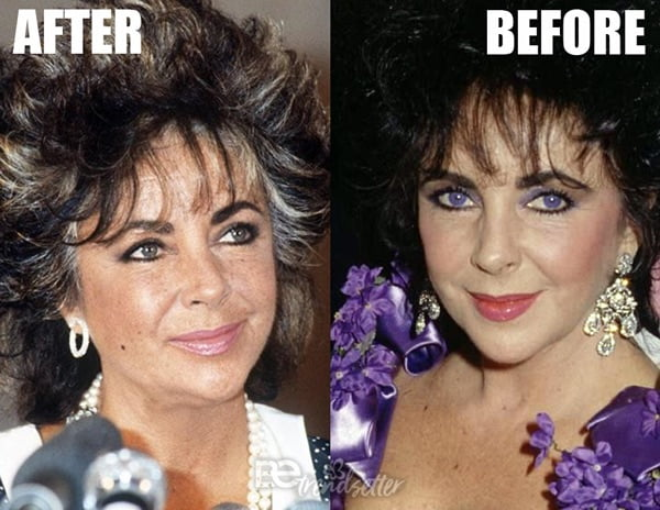 Elizabeth Taylor Purple Eyes