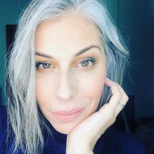 over 50 short gray hair