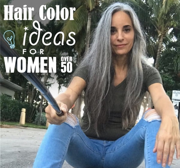 33 Best Hair Color Ideas For Women Over 50