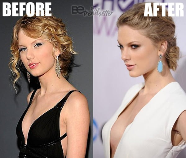 Taylor Swift Boob Job 2013