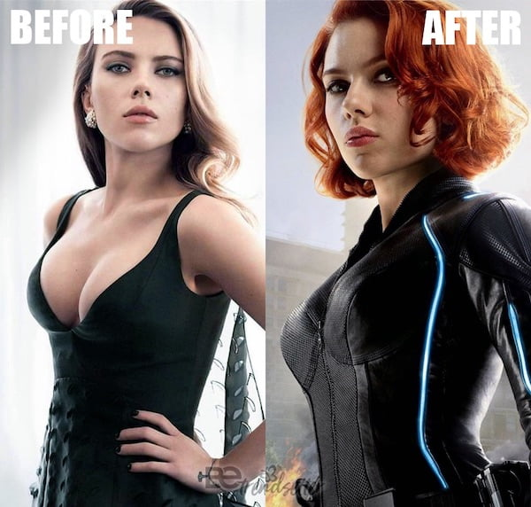 ea6a1fd60b2 Scarlett Johansson Plastic surgery  Breast Reduction Before   After