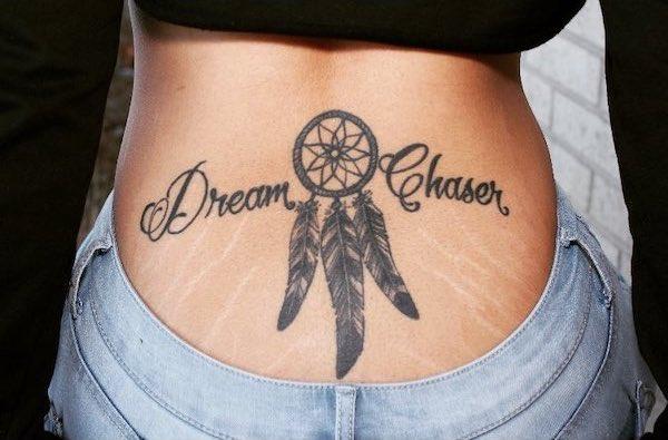 Dream chaser tramp stamp