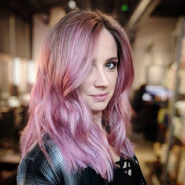 Taffy pink hair color