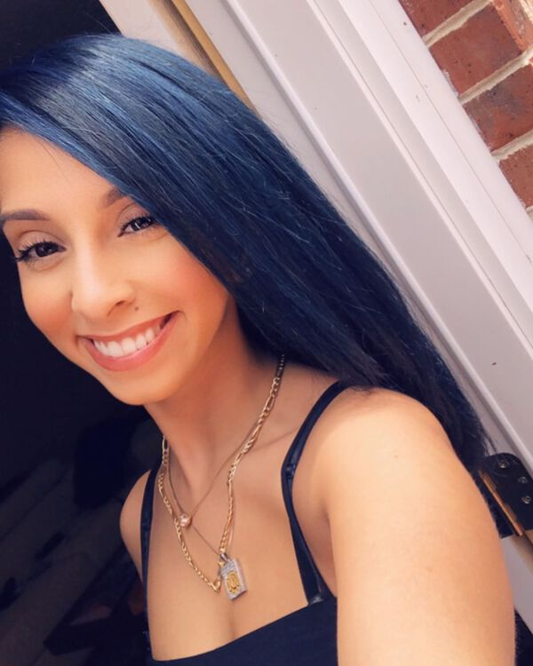 Cobalt Blue Black Hair Color for Straight Hair