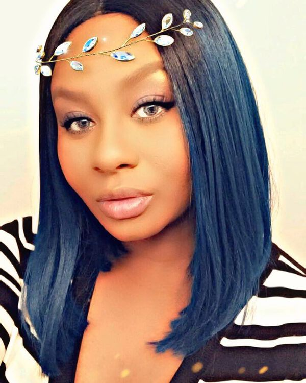 Prussian Blue Black Ombre for Dark Skin